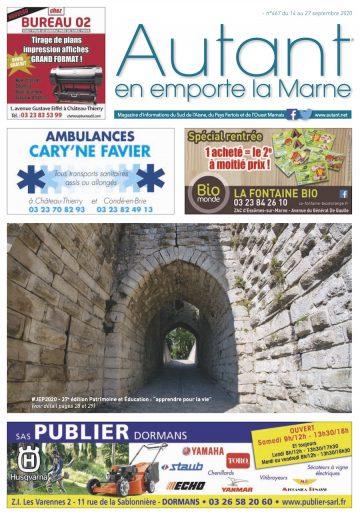 Couverture Autant n°467 du 14 septembre 2020