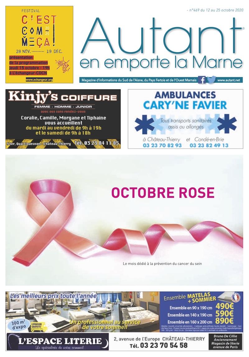 Couverture Autant n°469 du 12 octobre 2020