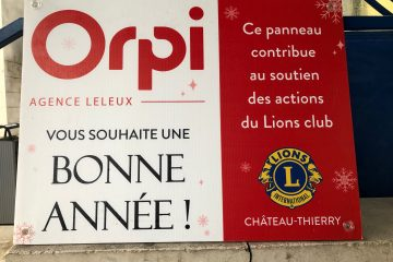 operation bonne annee du lions club