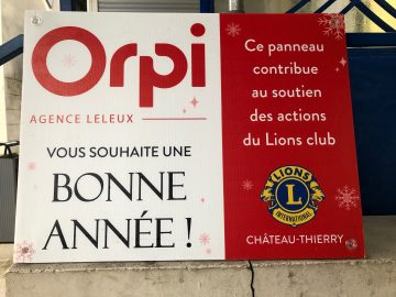 operation bonne annee du lions club