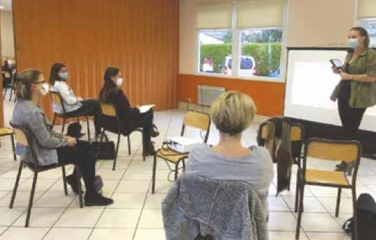 ateliers parentalités dans les locaux de UCCSA