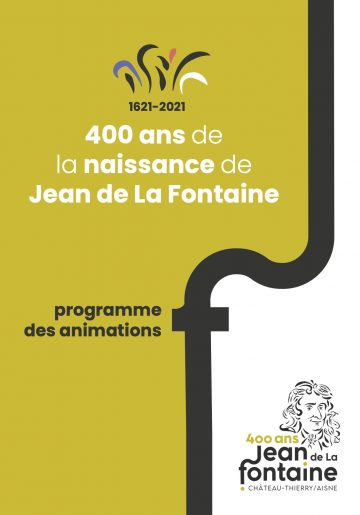 affiche 400 ans jean de la fontaine programme et animations