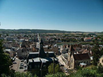 Château Thierry vu du vieux chateau