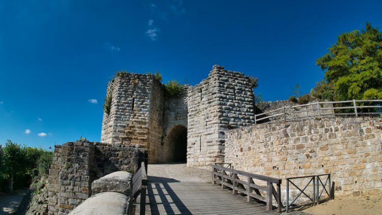 Porte du château médiéval de Château-Thierry