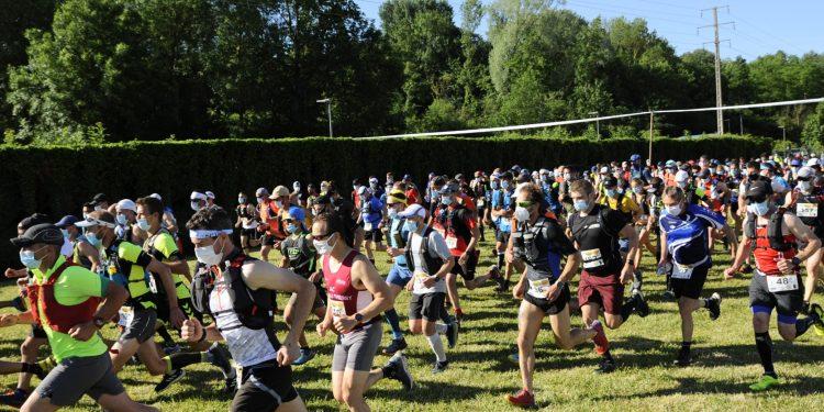 depart de la champ aisne trail a etampes 2021