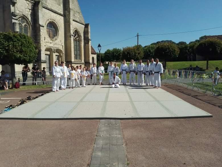 Initiations judo à Château-Thierry