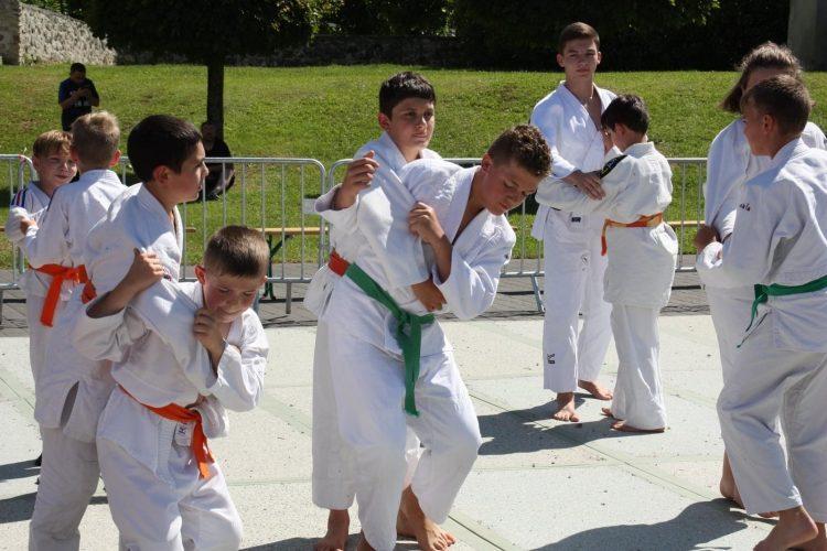 Initiation judo à CHateau Thierry