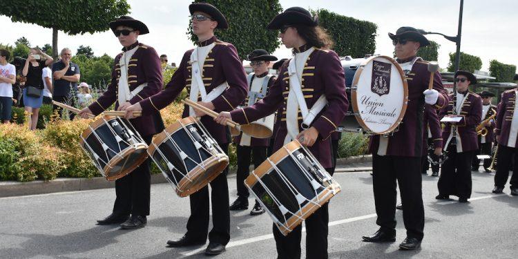 Défilé de l'Union Musicale de Chateau Thierry