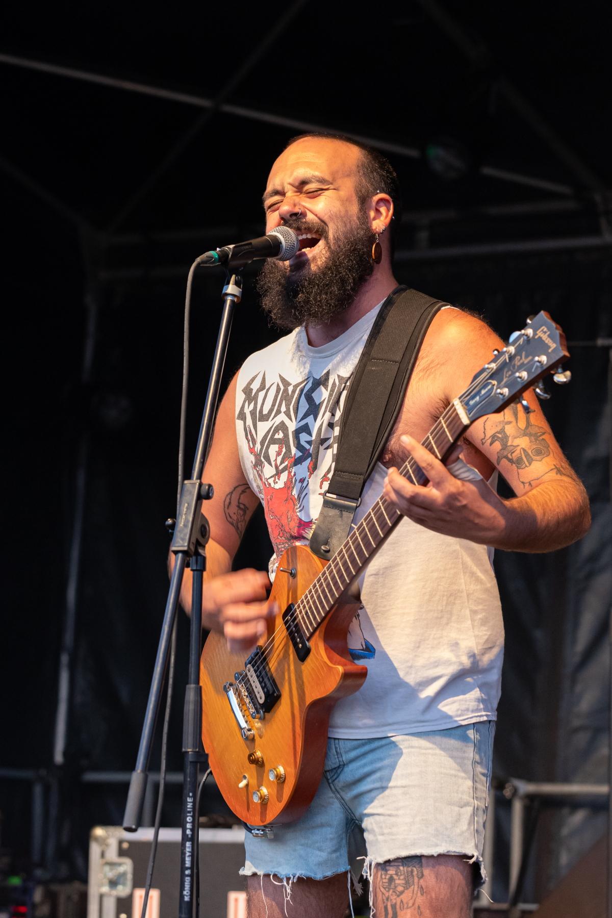 le guitariste de Input'es
