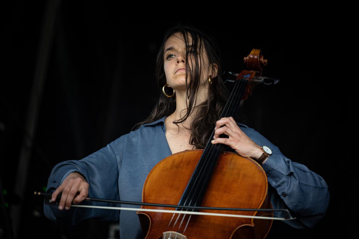 violoncelliste Cécile Lacharme