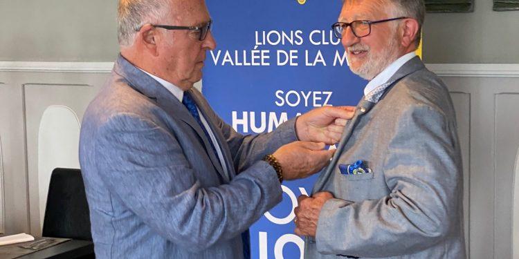 passation Lions club Vallée de la Marne