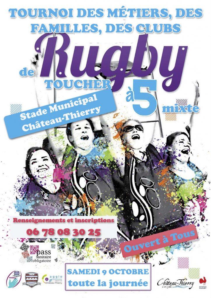 Tournoi des métiers rugby à 5